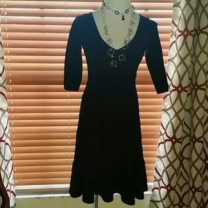 Milly gorgeous black dress.